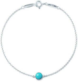 Tiffany & Co. Elsa Peretti Color by the Yard bracelet in sterling silver with turquoise