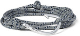 Miansai - Cord And Silver-plated Hook Wrap Bracelet