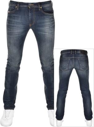 Diesel Thommer 0096U Skinny Fit Jeans Navy