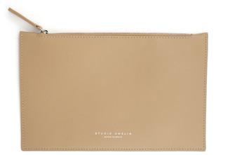 Studio Amelia Leather Zip Clutch