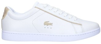 Lacoste Carnaby Evo Sneaker White/Gold