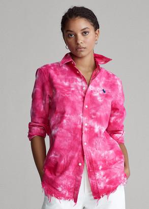 Ralph Lauren Tie-Dye Oxford Shirt