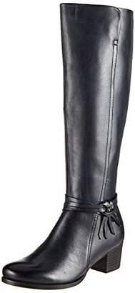 Caprice Women's Balina High Boots, Blue (Ocean Nappa 855)