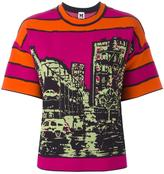 M Missoni printed T-shirt - women - Cotton/Polyamide/Polyester/Viscose - S