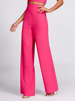 New York & Co. Gabrielle Union Collection - Wide-Leg Pant - Hot Pink