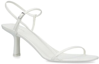 The Row Leather Nude Sandals