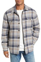 True Grit Men's Summit Plaid Faux Shearling Lined Shirt Jacket