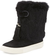 Tory Burch Anjelica Fur-Cuff Boot