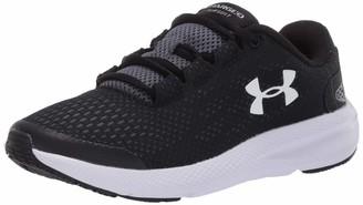Under Armour Grade School Charged Pursuit 2 Unisex Kids' RunningShoes Black (Black/White/White (001) 001) 5 UK (38 EU)