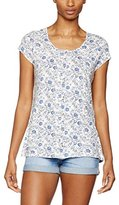 Fat Face Women's Tansy Trailing Woodblock T-Shirt