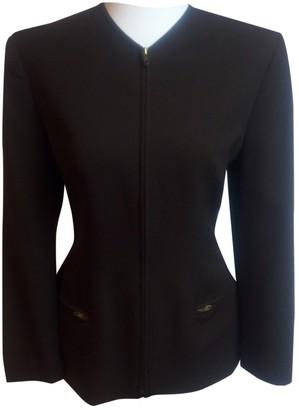 Genny Brown Wool Jacket for Women