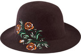 San Diego Hat Company Women's Round Crown Hat with Embroidery WFH8051