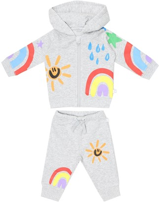 Stella McCartney Kids Baby printed cotton tracksuit
