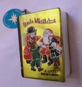 """Christopher Radko Glass Christmas Ornament, """"A Little Golden Book"""" 4"""""""