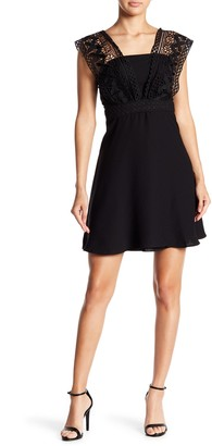 19 Cooper Crochet Lace Cap Sleeve Dress
