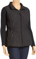 Weatherproof Black Diamond Quilted Vest - Plus