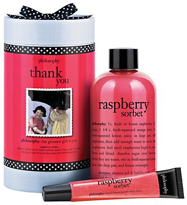philosophy Raspberry Thank You Bath & Body Gift Set