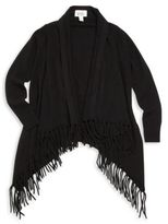 Autumn Cashmere Girl's Solid Wool-Spun Cape