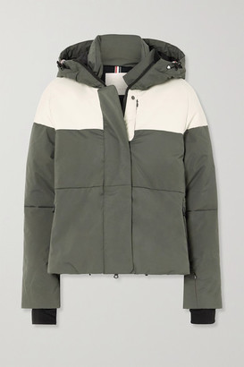 Erin Snow Lolita Hooded Quilted Ski Jacket - Gray
