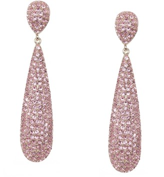 Nina Jewlelry Swarovski Crystal Pave Teardrop Earrings