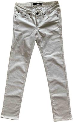 Kai-aakmann Kai Aakmann White Cotton - elasthane Jeans for Women