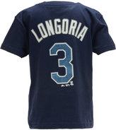 Majestic Kids' Evan Longoria Tampa Bay Rays Player T-Shirt