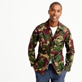 J.Crew Wallace & Barnes lightweight military jacket in camo