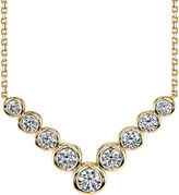 Sirena 1 CT. T.W. Diamond 14K Yellow Gold Necklace