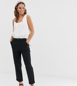 Asos Design DESIGN chino trousers in black