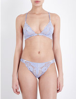 Heidi Klum Intimates Made in Eden stretch-lace demi underwired bra