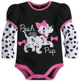 Disney 101 Dalmatians Long Sleeve Cuddly Bodysuit for Baby