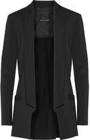 Marissa Webb Brunella silk-paneled crepe blazer