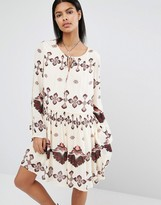 Vila Printed Smock Dress