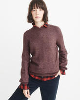 Abercrombie & Fitch Puff Sleeve Sweater