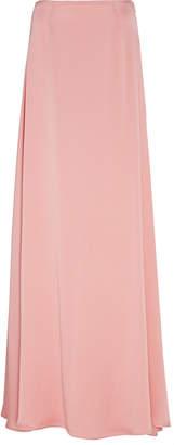 Sally LaPointe Satin Maxi Skirt