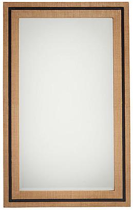 Barclay Butera La Costa Rectangular Wall Mirror - Raffia