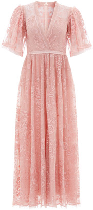 Needle & Thread Trudy Belle Embellished Tulle Ankle-Length Gown