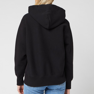 Champion Women's Big Script Hooded Sweatshirt
