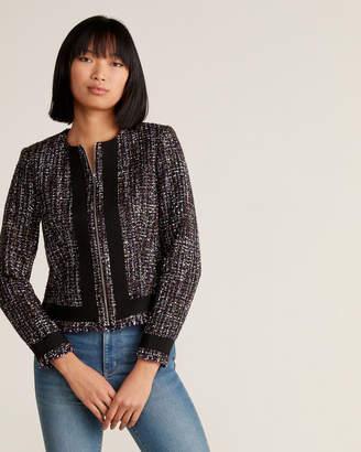 Calvin Klein Tweed Suit Jacket