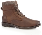 Mantaray Chocolate Brown Military Boots