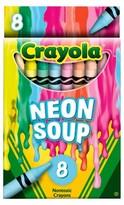 Crayola Meltdown Crayons8ct - Runny Rainbow