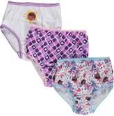 Disney WebUndies Girls Doc McStuffins Brief Panties (3 Pack)