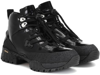 Alyx Patent leather hiking boots