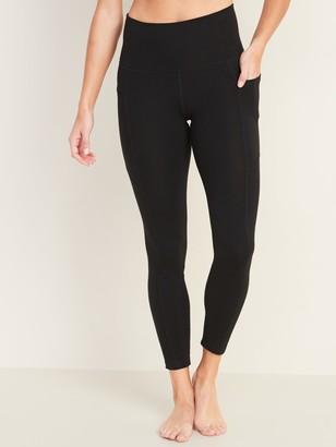 Old Navy High-Rise Balance 7/8-Length Side-Pocket Leggings for Women