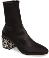 Badgley Mischka Women's Martine Statement Heel Sock Bootie