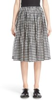 Comme des Garcons Women's Check Print Organdy Skirt