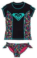 Roxy Big Girls Rash Guard Set