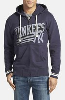 Mitchell & Ness 'New York Yankees' Tailored Fit Full Zip Hoodie