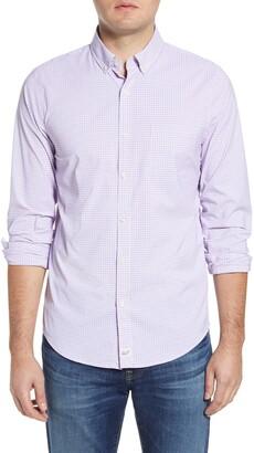 Vineyard Vines Murray Starfish Classic Fit Plaid Button-Down Performance Shirt