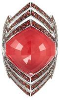 Stephen Webster Crystal Haze dégradé sapphire 18k white gold small ring